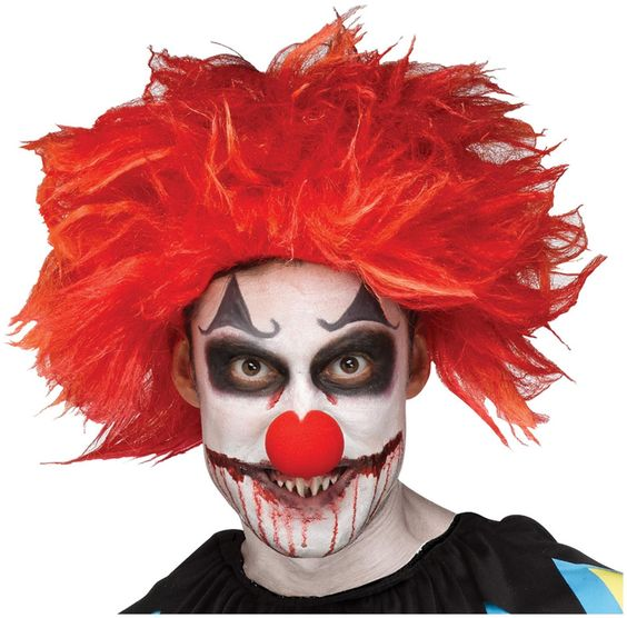 Idea Trucco Halloween uomo Creepy Clown di IT - Trucco Uomo Halloween: Foto Idee