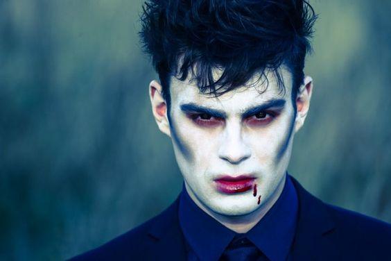 Make up Halloween uomo da Vampiro - Trucco Uomo Halloween: Foto Idee