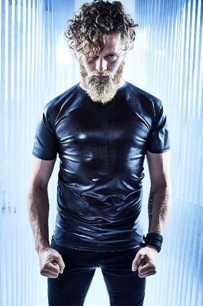 Taglio capelli medio lunghi con barba inverno 2019 2020 Klaus Peter Ochs - Tagli Capelli Uomo Moda Inverno 2020