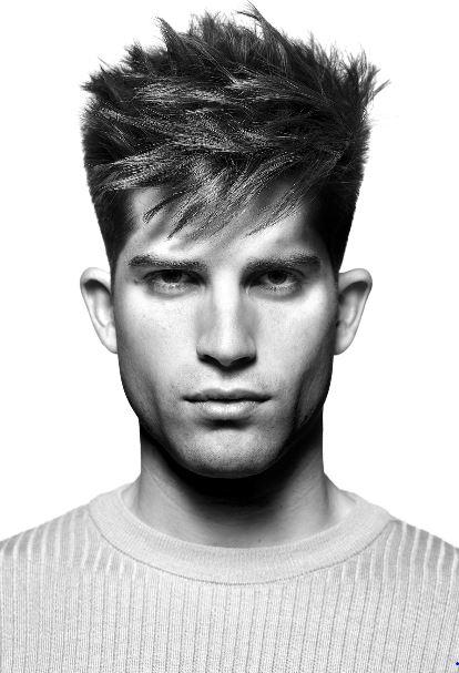 Taglio capelli uomo corti ai lati con ciuffo inverno 2019 2020 - Tagli Capelli Uomo Moda Inverno 2020