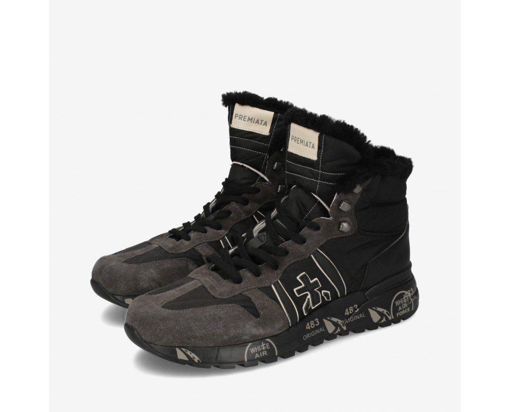 Sneakers alte invernali uomo Premiata mod Jeff 4275 - Premiata Scarpe Uomo Inverno 2019 2020