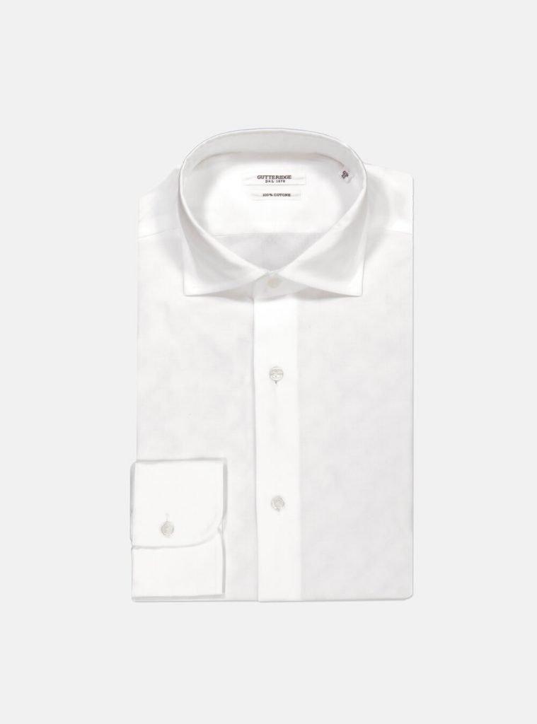 Camicia bianca da uomo Gutteridge 759x1024 - Abito Smoking da Uomo per Capodanno 2020