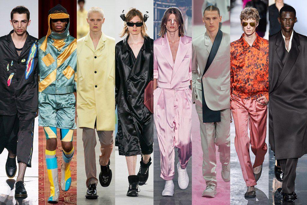 Abbigliamento in lucido satin moda uomo primavera estate 2020 1024x683 - Tendenze Moda Uomo Primavera Estate 2020