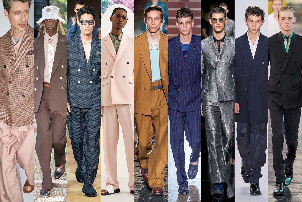 Abiti da uomo con giacca doppiopetto 2020 1024x683 - Tendenze Moda Uomo Primavera Estate 2020