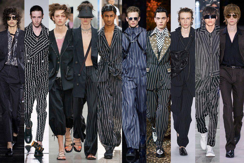 Abiti gessati a righe moda uomo primavera 2020 1024x683 - Tendenze Moda Uomo Primavera Estate 2020