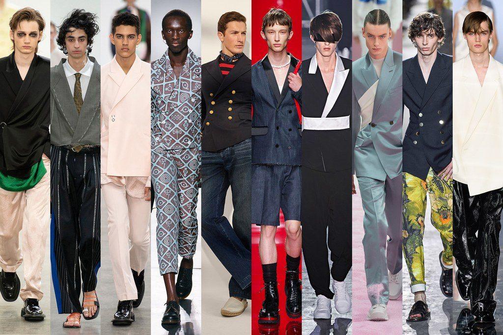 Abiti maschili con giacca a doppiopetto 2020 1024x683 - Tendenze Moda Uomo Primavera Estate 2020
