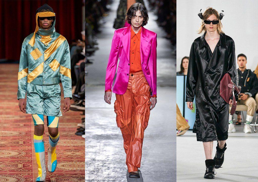 Abiti maschili in raso moda primavera estate 2020 1024x724 - Tendenze Moda Uomo Primavera Estate 2020