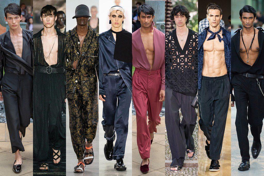 Camicie tenute aperte moda uomo primavera estate 2020 1024x683 - Tendenze Moda Uomo Primavera Estate 2020