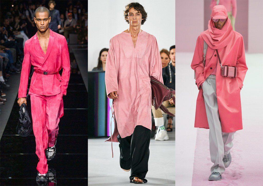 Colore Rosa Moda Uomo Primavera Estate 2020 1024x724 - Tendenze Moda Uomo Primavera Estate 2020