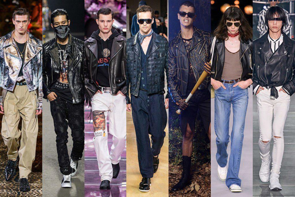 Giubbini in pelle biker moda uomo primavera 2020 1024x683 - Tendenze Moda Uomo Primavera Estate 2020