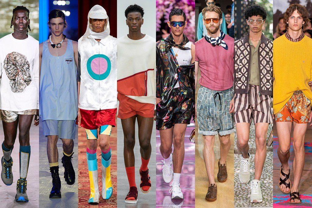 Pantaloncini corti moda uomo 2020 1024x683 - Tendenze Moda Uomo Primavera Estate 2020