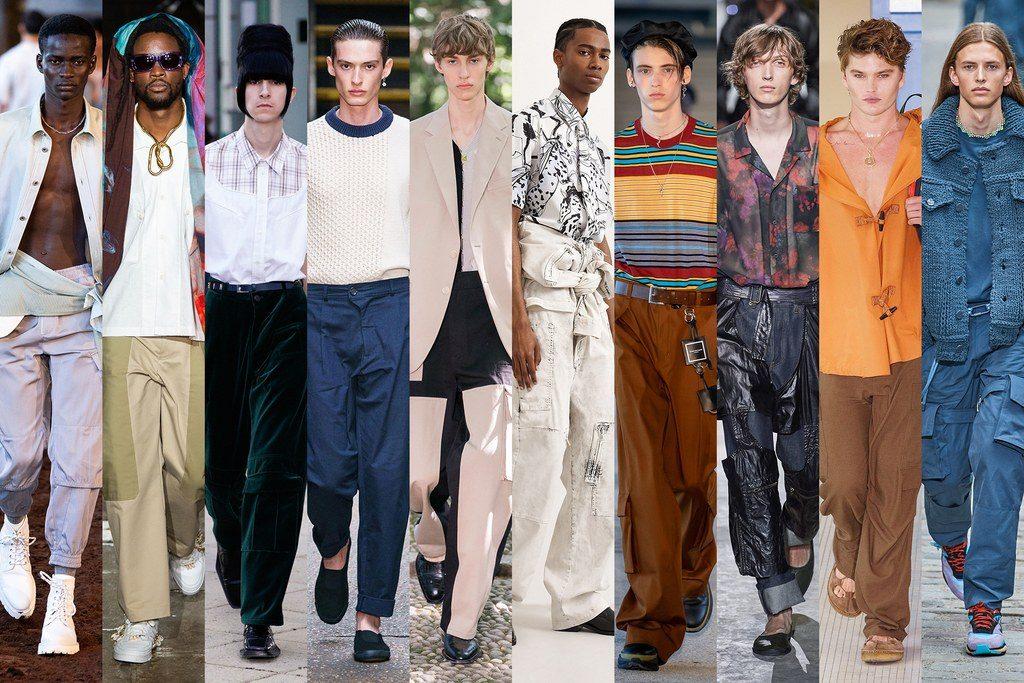 Pantaloni cargo moda maschile primavera estate 2020 1024x683 - Tendenze Moda Uomo Primavera Estate 2020