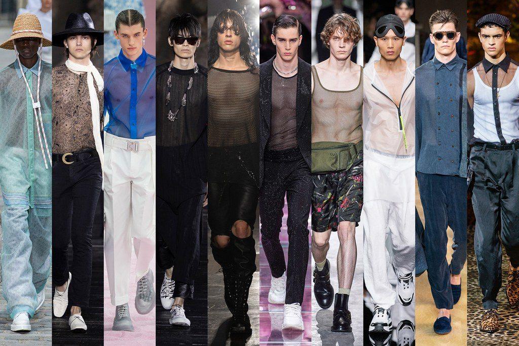 Trasparenze moda maschile primavera estate 2020 1024x683 - Tendenze Moda Uomo Primavera Estate 2020