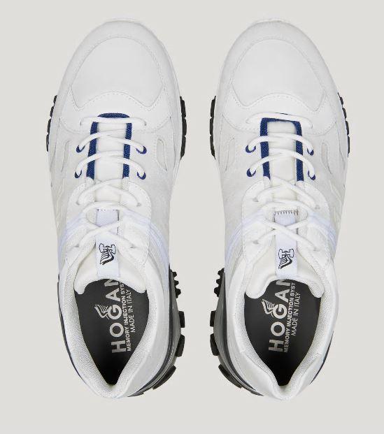Nuove scarpe Hogan Uomo Urban Trek Bianche - Nuove Sneakers HOGAN Uomo Urban Trek Primavera Estate 2020