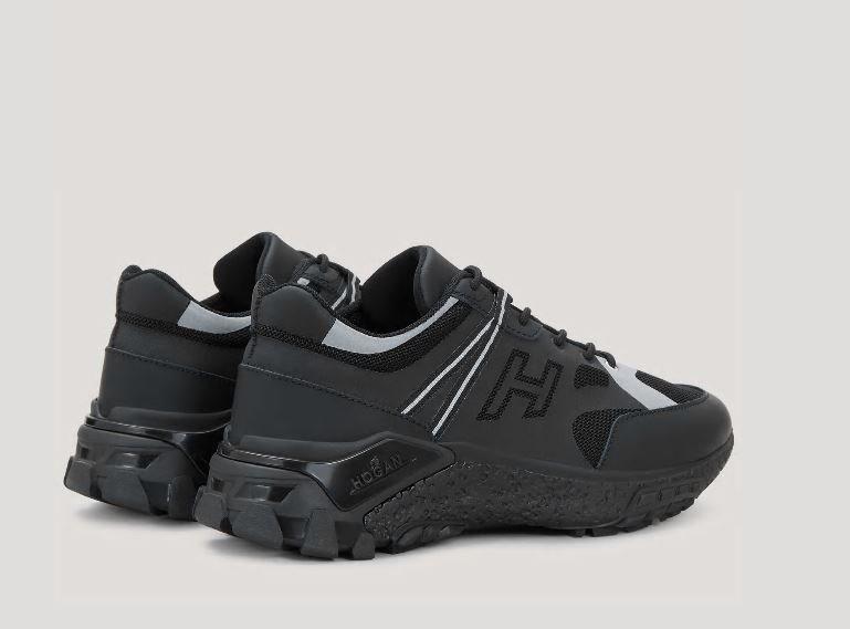 Nuove scarpe uomo Hogan Urban Trek nere collezione primavera estate 2020 - Nuove Sneakers HOGAN Uomo Urban Trek Primavera Estate 2020