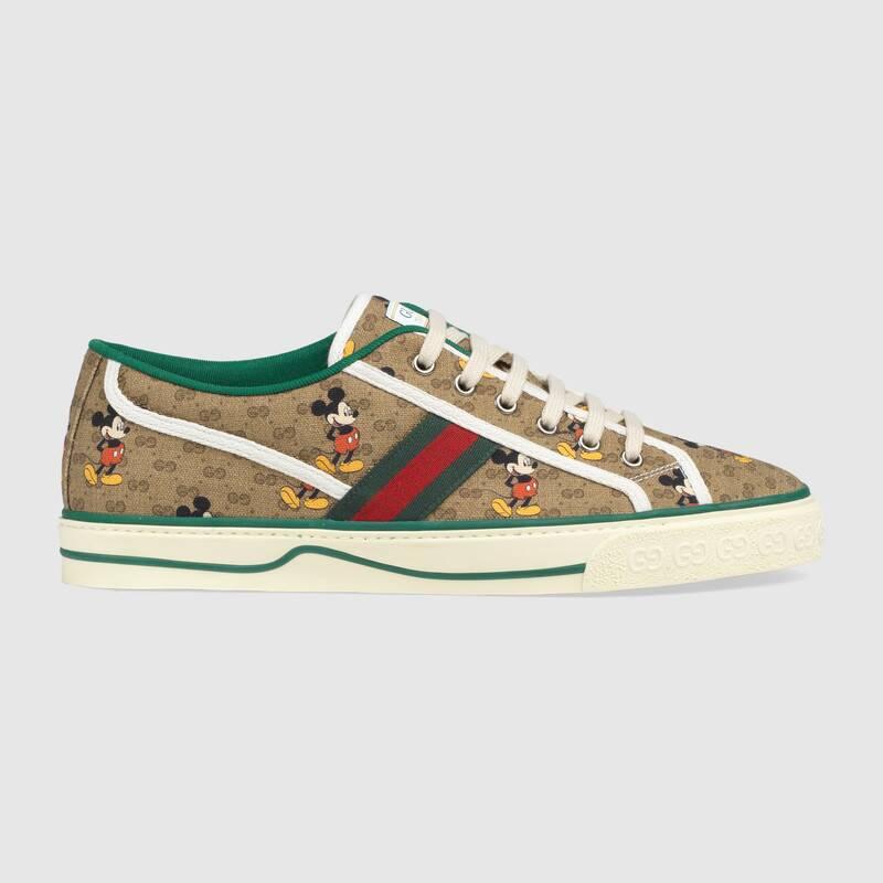 Nuove sneakers Gucci Tennis 1977 uomo collezione Disney primavera estate 2020 - Sneakers Gucci Uomo primavera estate 2020