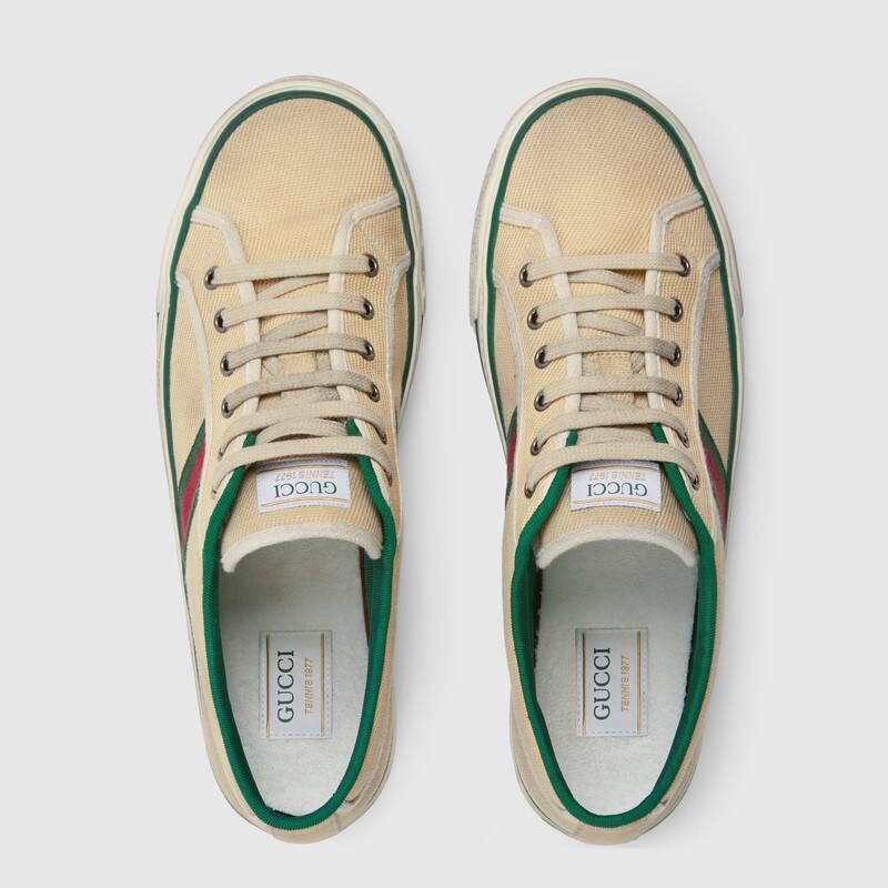 Nuove sneakers Gucci Tennis 1977 uomo collezione primavera estate 2020 - Sneakers Gucci Uomo primavera estate 2020