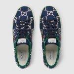 Nuove sneakers Gucci Tennis 1977 uomo primavera estate 2020 colore blu GG 150x150 - Sneakers Gucci Uomo primavera estate 2020