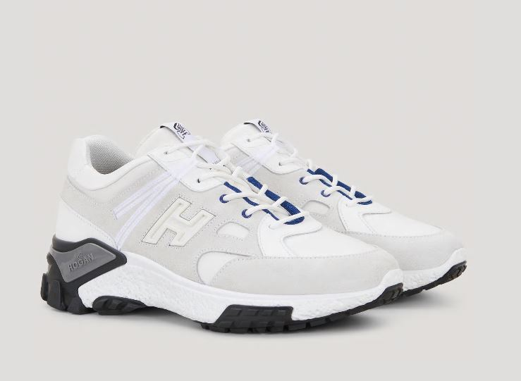 Nuove sneakers Urban Trek Hogan Uomo Bianche estate 2020 - Nuove Sneakers HOGAN Uomo Urban Trek Primavera Estate 2020