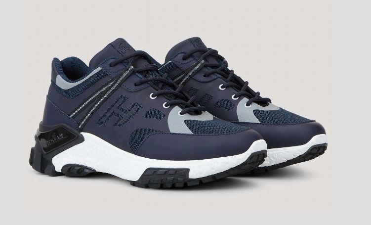 Nuove sneakers Urban Trek Hogan Uomo Blu collezione primavera estate 2020 - Nuove Sneakers HOGAN Uomo Urban Trek Primavera Estate 2020