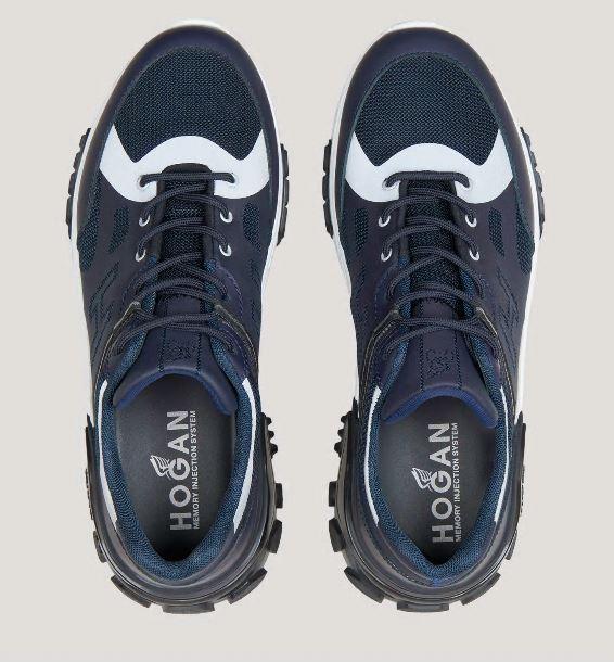 Nuove sneakers Urban Trek Hogan Uomo Blu primavera estate 2020 - Nuove Sneakers HOGAN Uomo Urban Trek Primavera Estate 2020