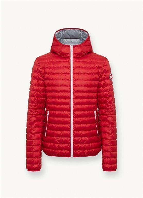 Piumino Urban Colmar con cappuccio primavera 2020 prezzo 230 euro colore rosso - Piumini 100 grammi Colmar Uomo Primavera 2020