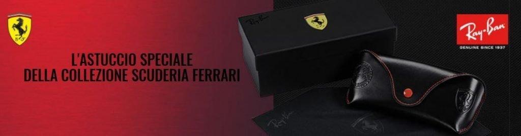 Astuccio Occhiali da sole Ray ban Scuderia Ferrari 1024x269 - Occhiali da Sole Uomo Ray ban Estate 2020