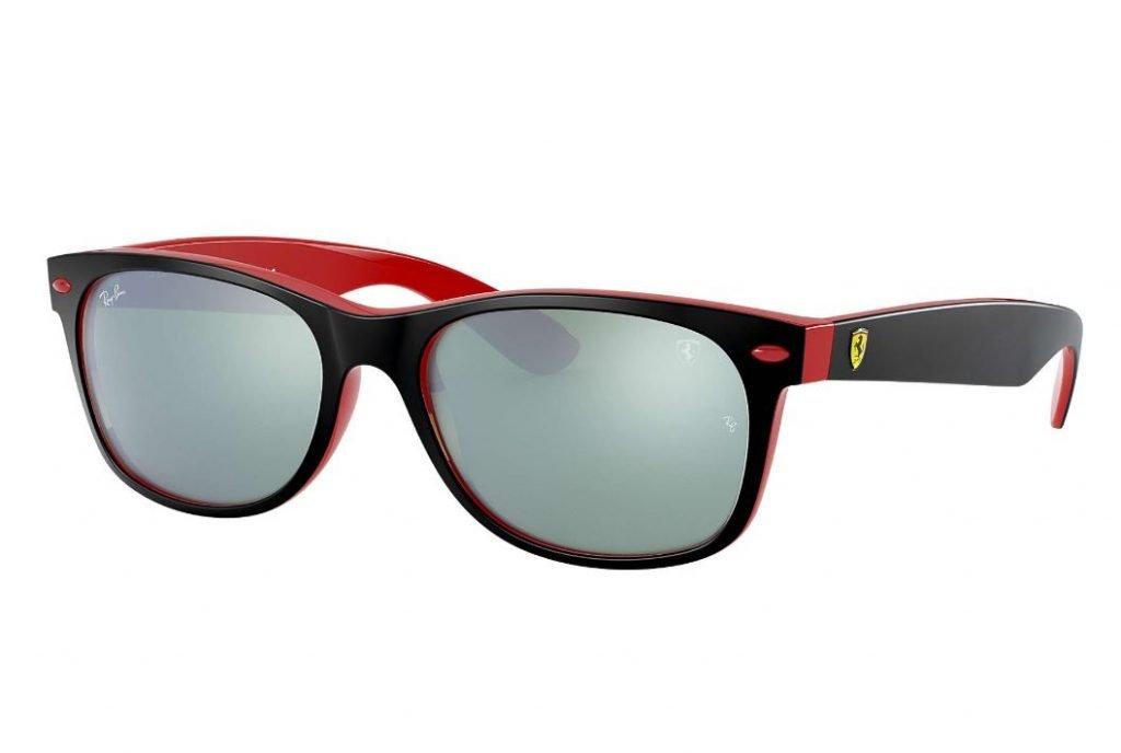 Nuovi Ray ban New Wayfarer collezione Scuderia Ferrari uomo estate 2020 1024x688 - Occhiali da Sole Uomo Ray ban Estate 2020