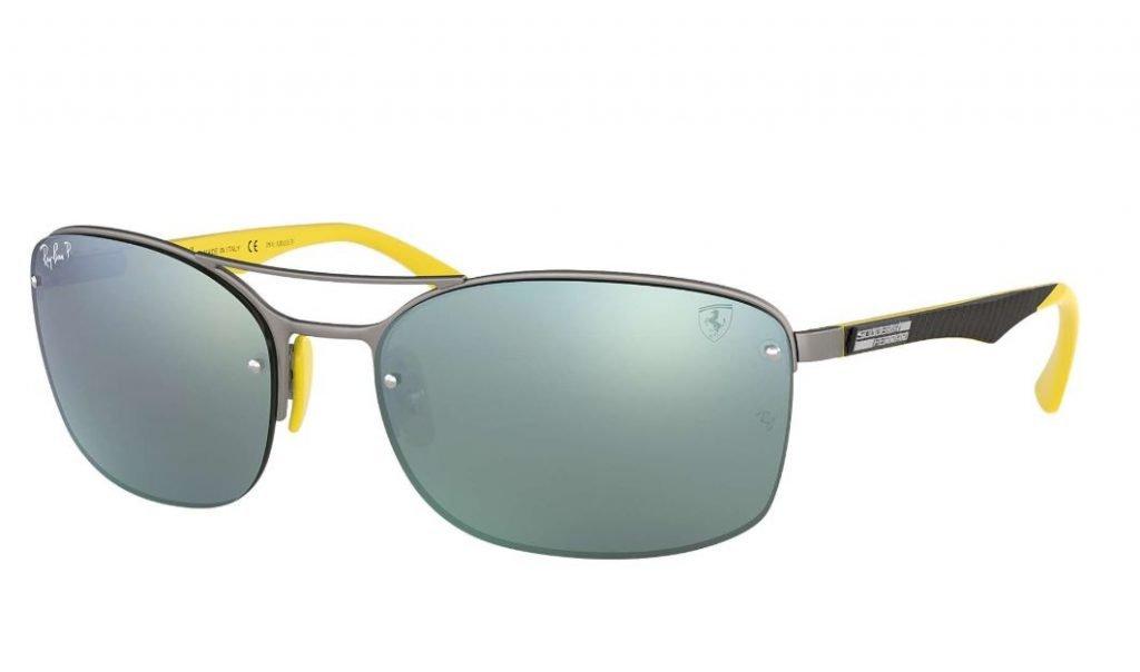 Nuovi occhiali da sole Rayban uomo 2020 canna di fucile e lenti argento 1024x604 - Occhiali da Sole Uomo Ray ban Estate 2020