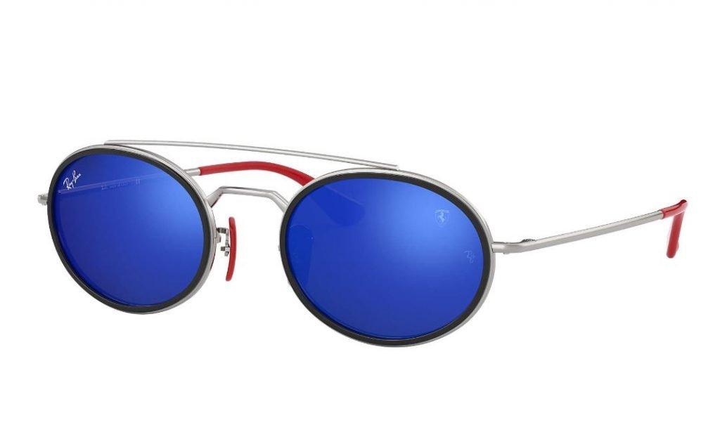 Nuovo occhiale Ray ban RB3847M collezione estate 2020 con lenti blu 1024x605 - Occhiali da Sole Uomo Ray ban Estate 2020