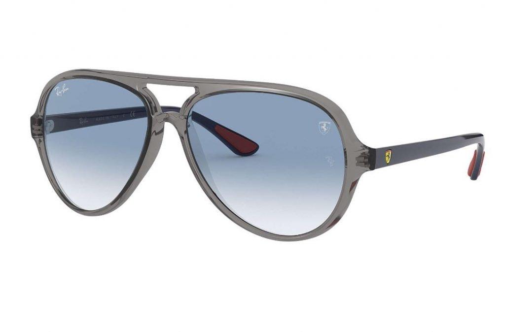 Occhiale da sole Aviator Ray ban collezione scuderia Ferrari 2020 RB4125M 1024x674 - Occhiali da Sole Uomo Ray ban Estate 2020