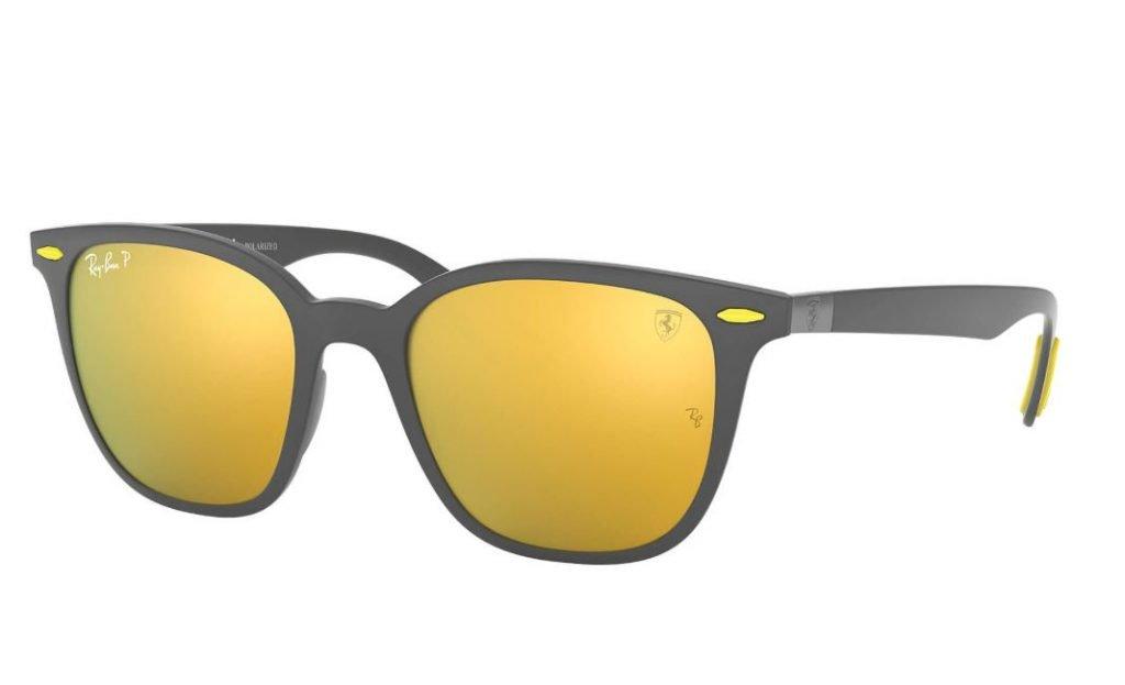 Occhiale da sole Rayban mod RB4297M estate 2020 con lenti oro 1024x623 - Occhiali da Sole Uomo Ray ban Estate 2020