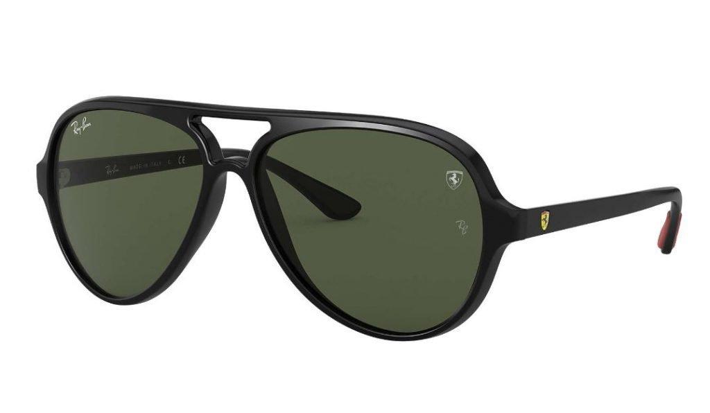 Occhiali da sole Ray ban Aviator uomo 2020 collezione Scuderia Ferrari 1024x596 - Occhiali da Sole Uomo Ray ban Estate 2020