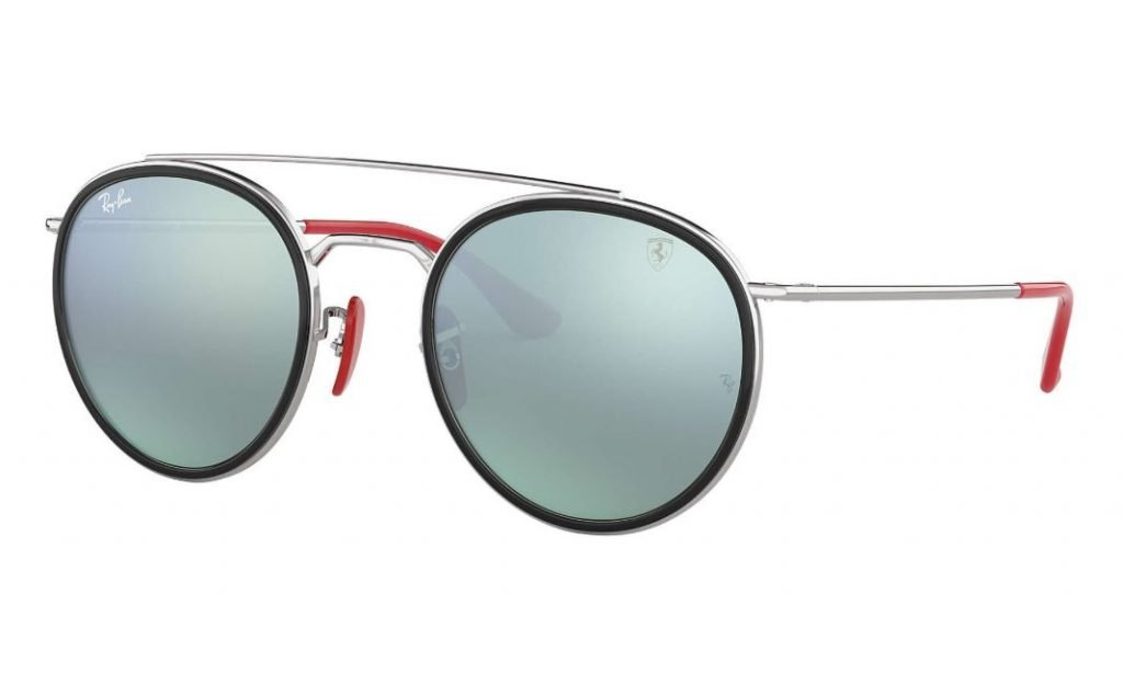Occhiali da sole Ray ban uomo estate 2020 argento Scuderia Ferrari Collection 1024x615 - Occhiali da Sole Uomo Ray ban Estate 2020