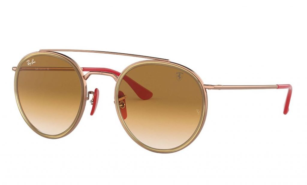 Occhiali da sole Ray ban uomo estate 2020 bronzo Scuderia Ferrari Collection 1024x617 - Occhiali da Sole Uomo Ray ban Estate 2020