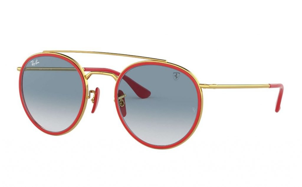 Occhiali da sole Ray ban uomo estate 2020 oro Scuderia Ferrari Collection 1024x635 - Occhiali da Sole Uomo Ray ban Estate 2020