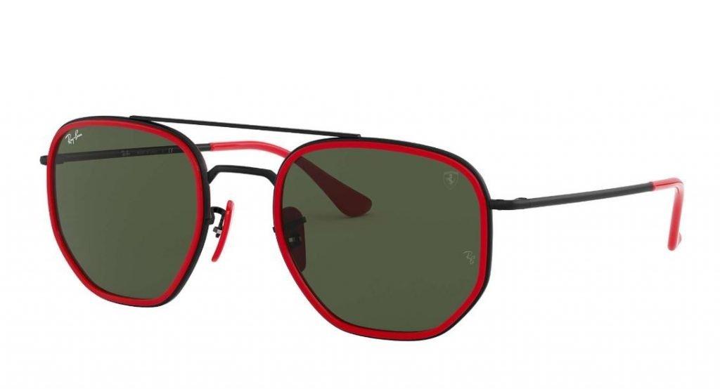 Ray ban occhiali da sole uomo Scuderia Ferrari mod RB3748M collezione estate 2020 1024x554 - Occhiali da Sole Uomo Ray ban Estate 2020