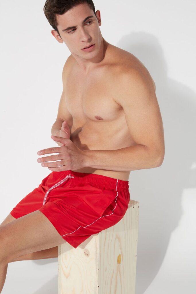 Boxer mare rosso con tasche Tezenis estate 2020 683x1024 - Costumi Uomo Tezenis Estate 2020