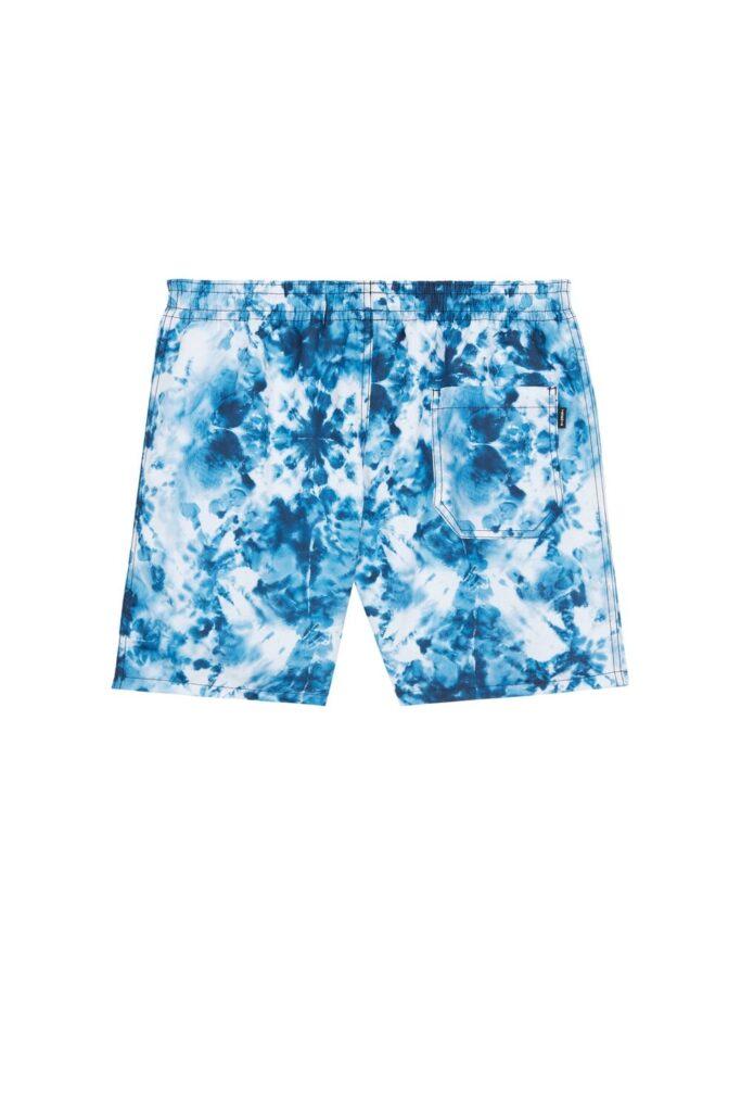 Costume uomo mare boxer Tezenis estate 2020 stampa blu tie dye foto retro 683x1024 - Costumi Uomo Tezenis Estate 2020