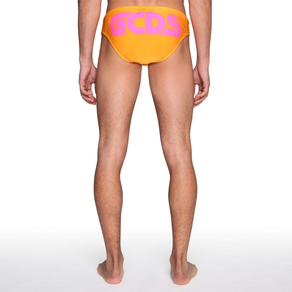 Costume uomo slip GCDS collezione estate 2020 immagine retro 1024x1024 - Costumi Uomo GCDS 2020