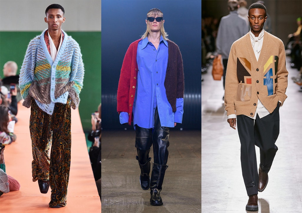 Cardigan moda uomo inverno 2020 2021 - Moda Uomo Inverno 2020 2021: Tendenze Abbigliamento