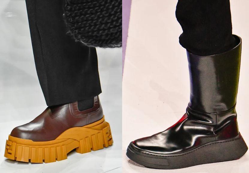 Chunky Boots Moda Uomo Inverno 2020 2021 - Moda Uomo Inverno 2020 2021: Tendenze Abbigliamento