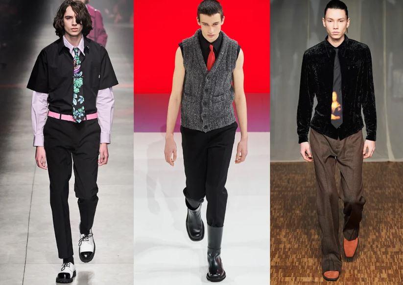 Il ritorno della cravatta Moda Uomo Inverno 2020 2021 - Moda Uomo Inverno 2020 2021: Tendenze Abbigliamento