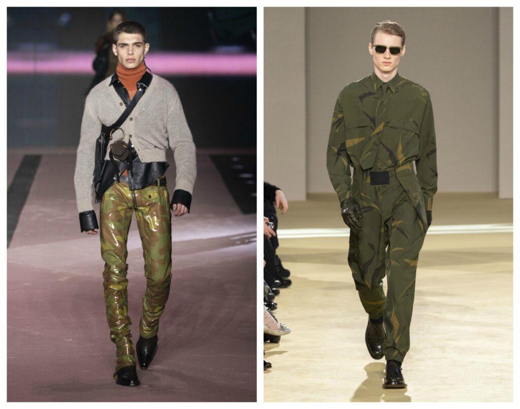 Moda maschile stile militare 1024x806 - Moda Uomo Inverno 2020 2021: Tendenze Abbigliamento