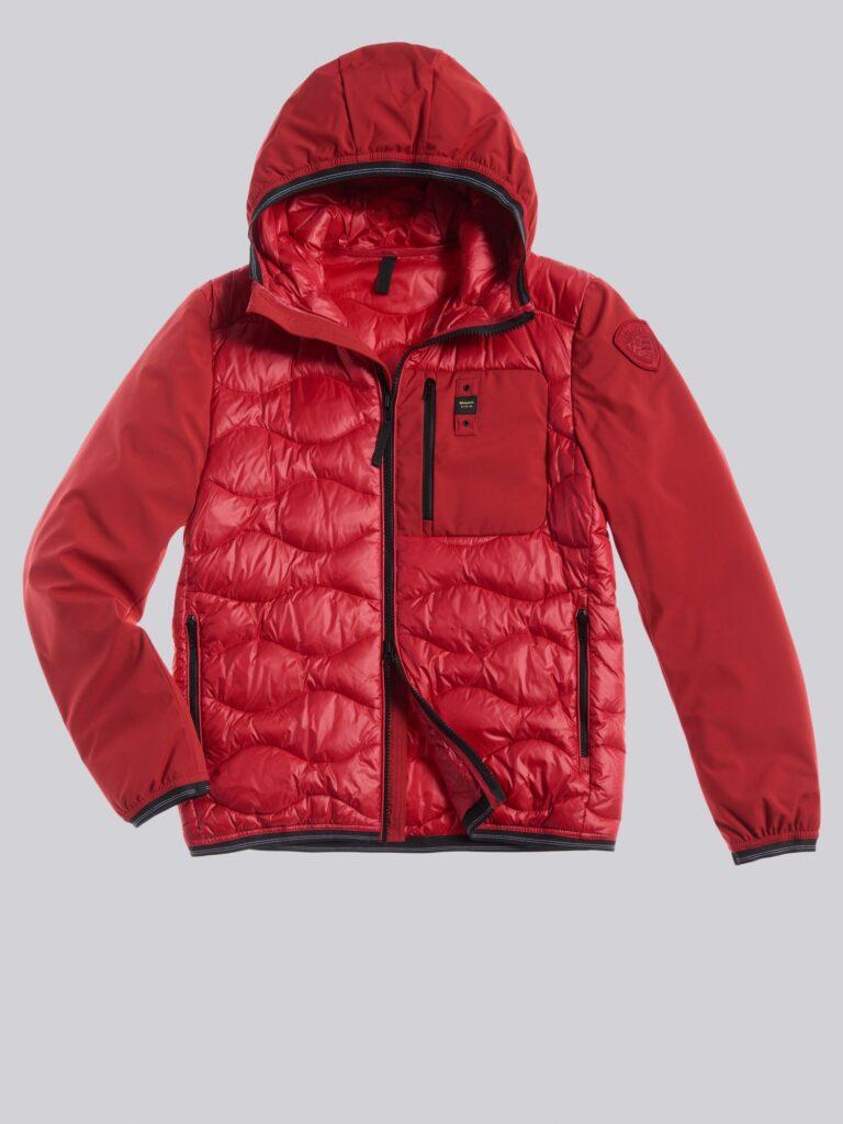 Blauer piumino maschile modello Bobby collezione inverno 2020 2021 colore rosso 768x1024 - Piumini Uomo BLAUER Inverno 2020 2021