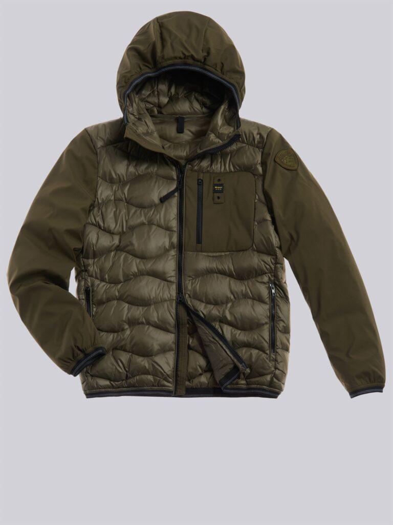 Blauer piumino maschile modello Bobby collezione inverno 2020 2021 colore verde militare 768x1024 - Piumini Uomo BLAUER Inverno 2020 2021