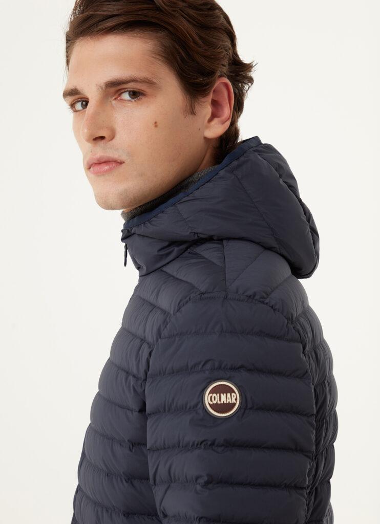 Logo Colmar sul braccio sinistro 742x1024 - Colmar piumini leggeri 100 grammi uomo autunno inverno 2020 2021