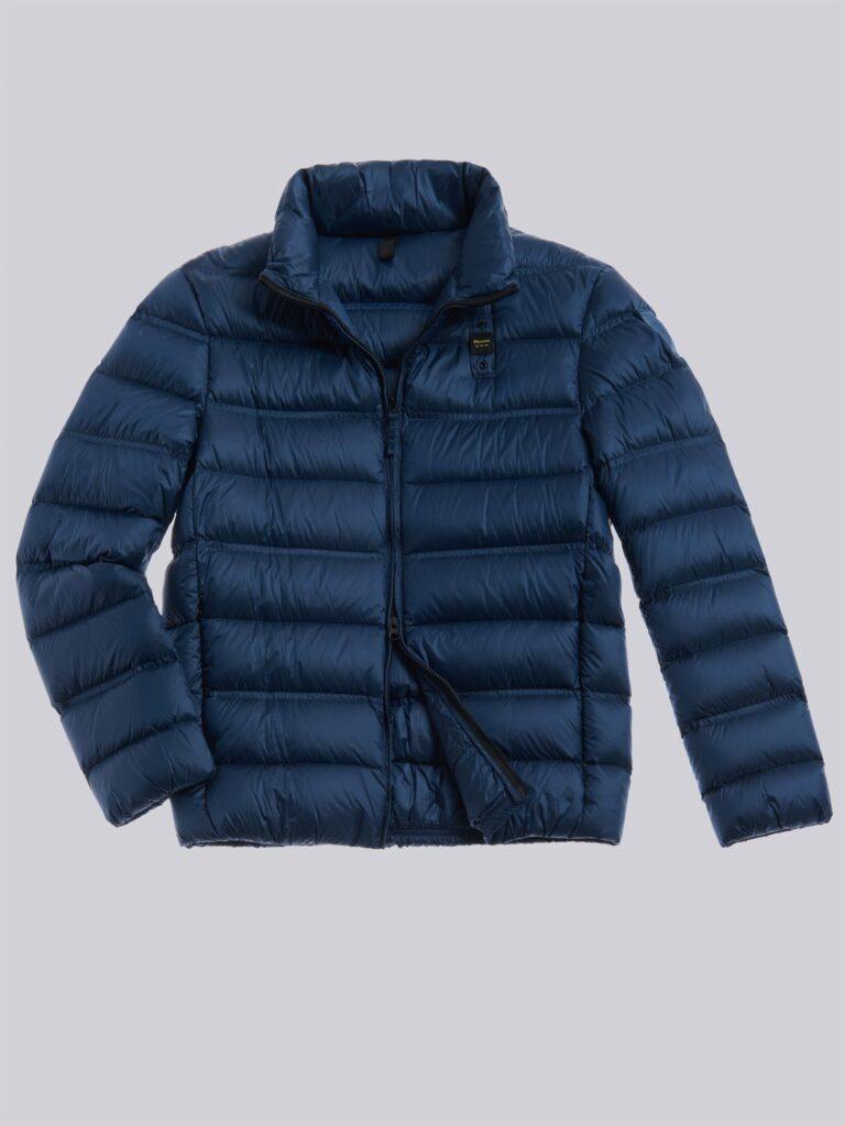Piumino Blauer collezione uomo inverno 2020 2021 colore blu oceano modello Basico Bruce 768x1024 - Piumini Uomo BLAUER Inverno 2020 2021