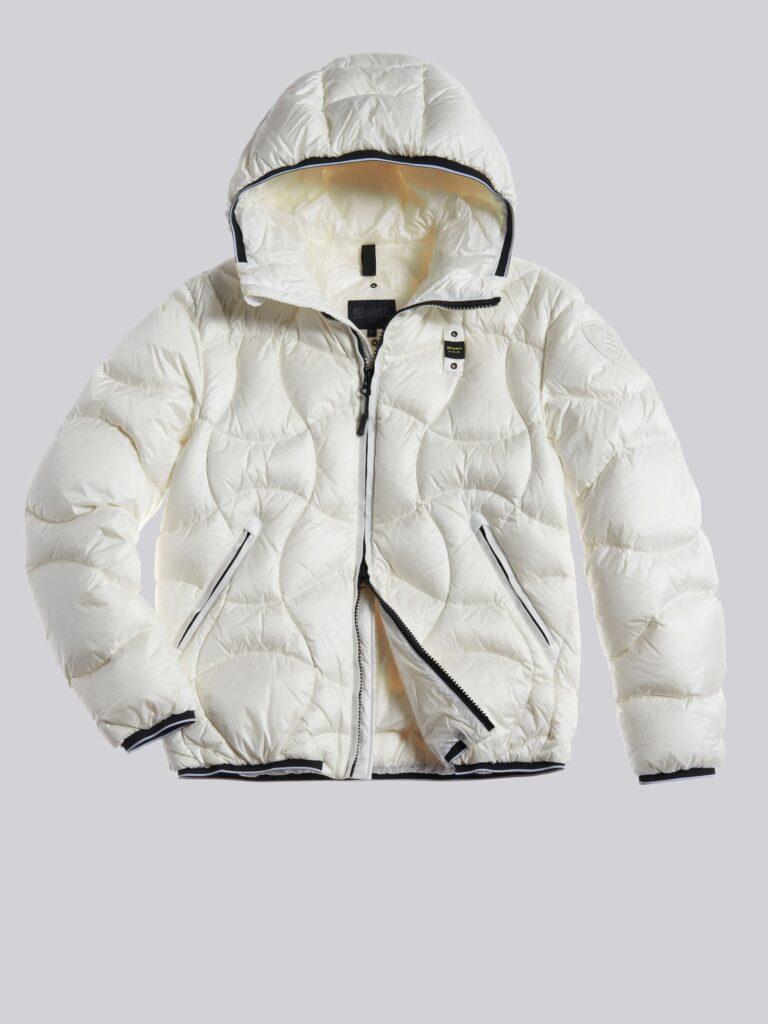 Piumino Blauer uomo collezione inverno 2021 colore bianco modello Benjamin 768x1024 - Piumini Uomo BLAUER Inverno 2020 2021