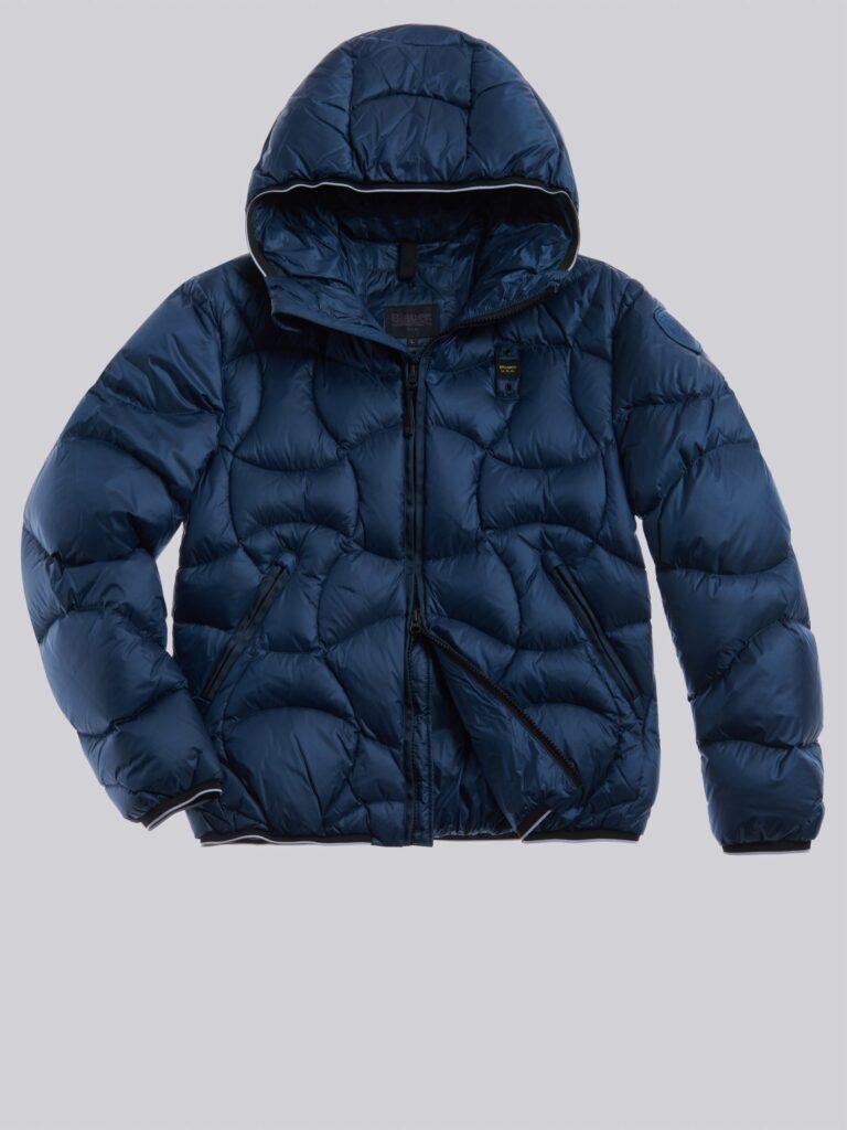 Piumino Blauer uomo collezione inverno 2021 colore blu oceano modello Benjamin 768x1024 - Piumini Uomo BLAUER Inverno 2020 2021